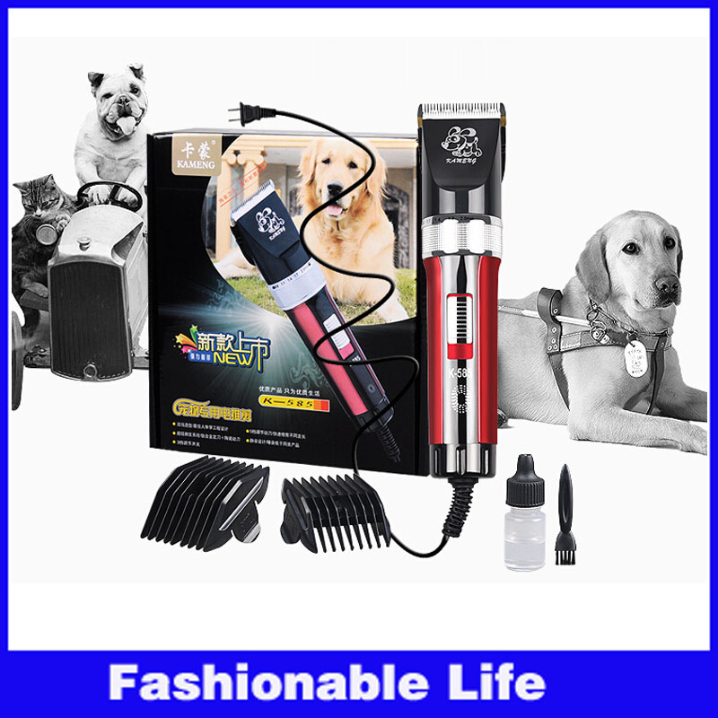 New Electric Scissors Professional Pet Hair Trimmer Animals Grooming Clippers Cat Dog Hair Trimmer Cutting machine 3m power line(China (Mainland))