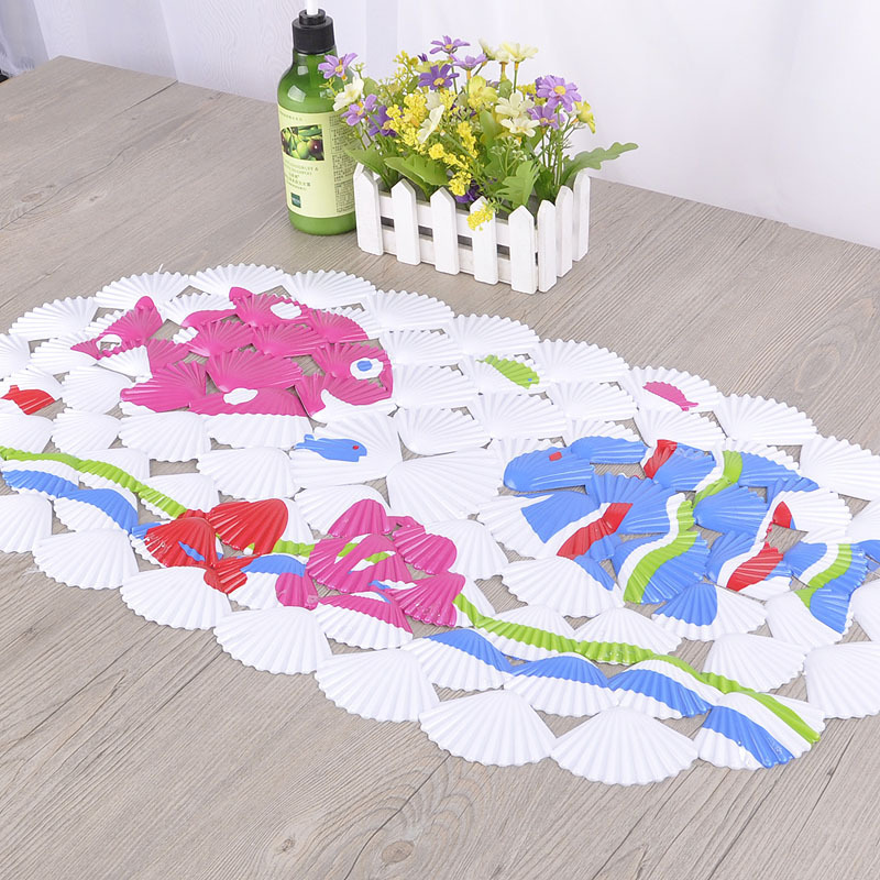 shell caricatura pvc tapete de banho tapetes de banho banheira banheiro banho tapis tapete de. Black Bedroom Furniture Sets. Home Design Ideas