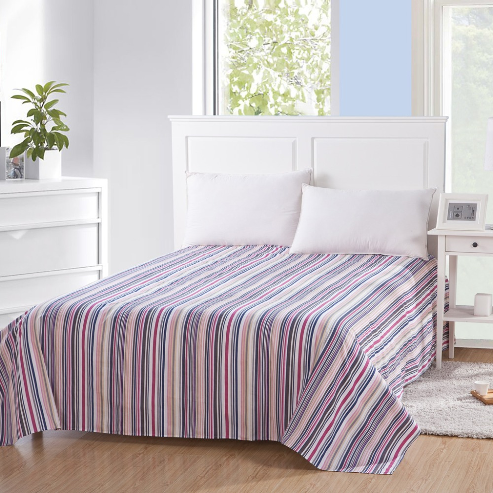 how to put bed flat sheet
