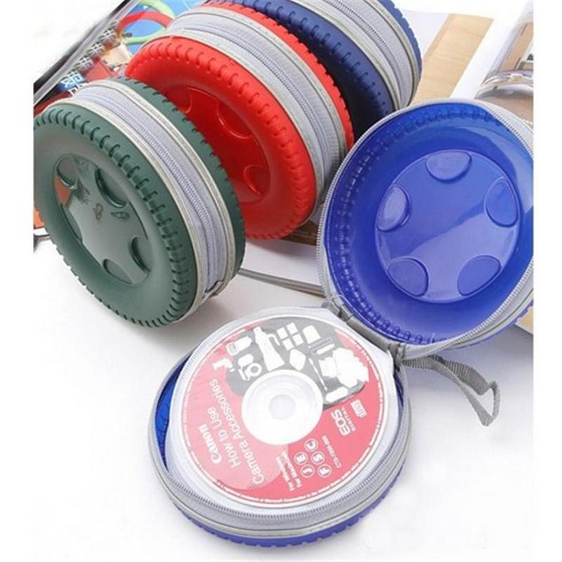 Fashion Car Auto CD DVD Disk Card Visor Case Holder Clipper Organizer Bag 6 Colors 40 CDs Inside Carry Case(China (Mainland))