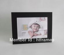 Free shipping Acid free black cardboard picture frame 5x7 / christmas photo frame(China (Mainland))