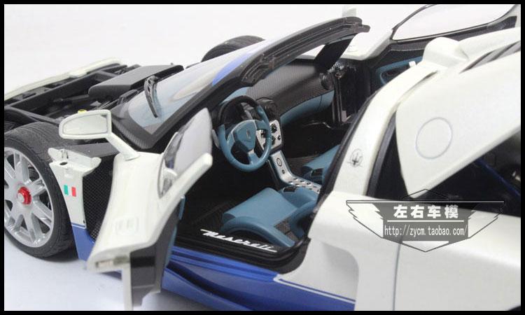 AUTOart 1/18 Scale Italy Maserati MC12 Diecast Steel Automotive Mannequin Toy New In Field For Assortment/Reward/Ornament