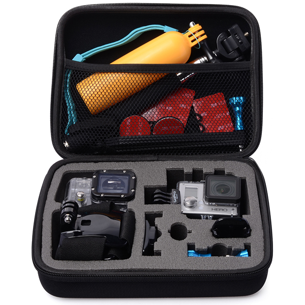 Storage Travel Carry Case Bag for Gopro Hero 4 3+ 3 2 Camera Accessories OS066(China (Mainland))