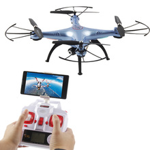 Buy Newest Outdoor Quadcopter DM006 4CH 6-Axis WIFI FPV RC Helicopter drone top camera 5.0 MP Key Return Headless MODE PK Syma x8w for $63.00 in AliExpress store