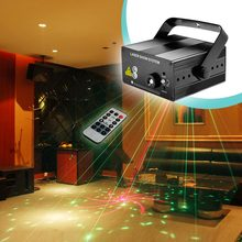 Buy RG 40 Patterns Red Green Mini Laser Projector Light Blue LED Remote laser show system auto Sound/ Music Active DJ Disco for $42.76 in AliExpress store
