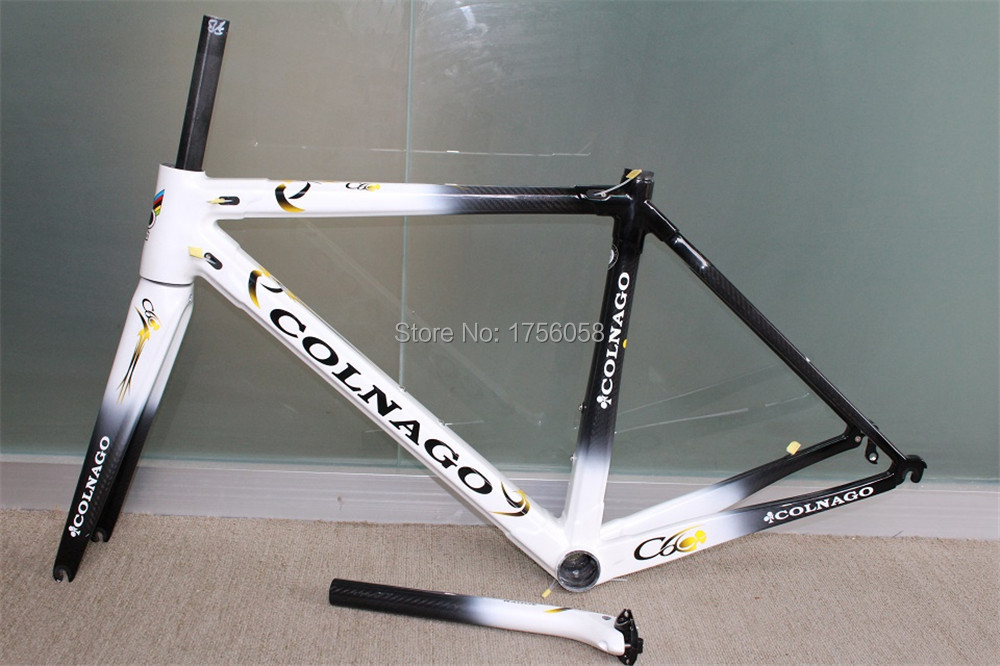 15 colors for New C60 Road bike Frame full carbon fiber bicycle frame C60 with BB386 Frame+Seatpost+Fork+Clamp+Headset(China (Mainland))