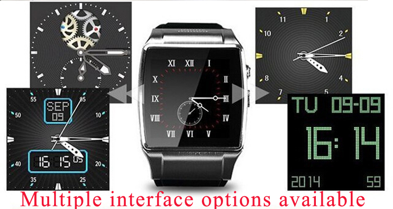 """2015 new GV18 Smart wat Camera wrist Watch SIM card Smartwatch for iPhone6 Samsung Android Phonech phone 1.55"""" GSM NFC(China (Mainland))"""