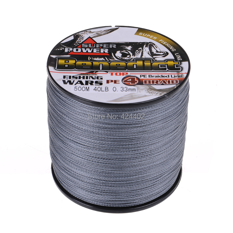 500M Brand Feihong 4 strands Japan Multifilament 100% PE supper strong Braided Fishing Line 0.1mm-0.5mm(China (Mainland))