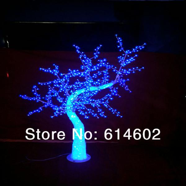 H: 2m LED pink simulation cherry tree/led christmas tree(China (Mainland))