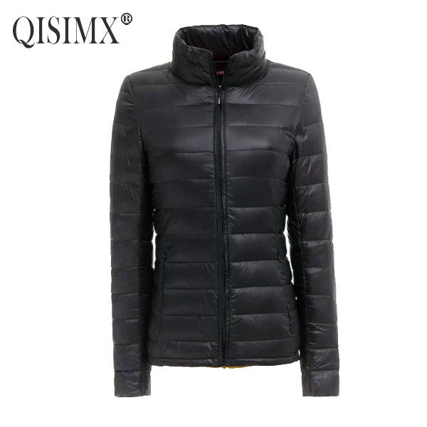 QISIMX 2015 NEW Women Coat Fashion Autumn Winter Female Down Jacket Women Parkas Casual Jackets Inverno Parka Wadded plus size(China (Mainland))