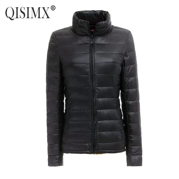 QISIMX 2015 NEW Women Coat Fashion Autumn Winter Female Down Jacket Women Parkas Casual Jackets Inverno Parka Wadded plus size(China (Mainland))
