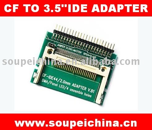 Pin-bare Laptop 44 Pin Male IDE To CF Card Adapter 2.5 IDE/PATA Hard Drive Disk(China (Mainland))