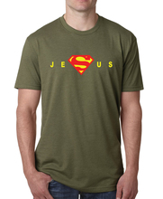 Buy Superman Jesus t shirt men 2017 summer short sleeve o-neck tee Shirt homme funny harajuku brand clothing fitness top hip-hop top for $6.80 in AliExpress store