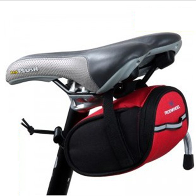 Bike Bicycle Backpack Newest MTB Cycling Seat Bag Basket Seat Post Bag Accessories Road Bicycle Bike Saddle Bag(China (Mainland))