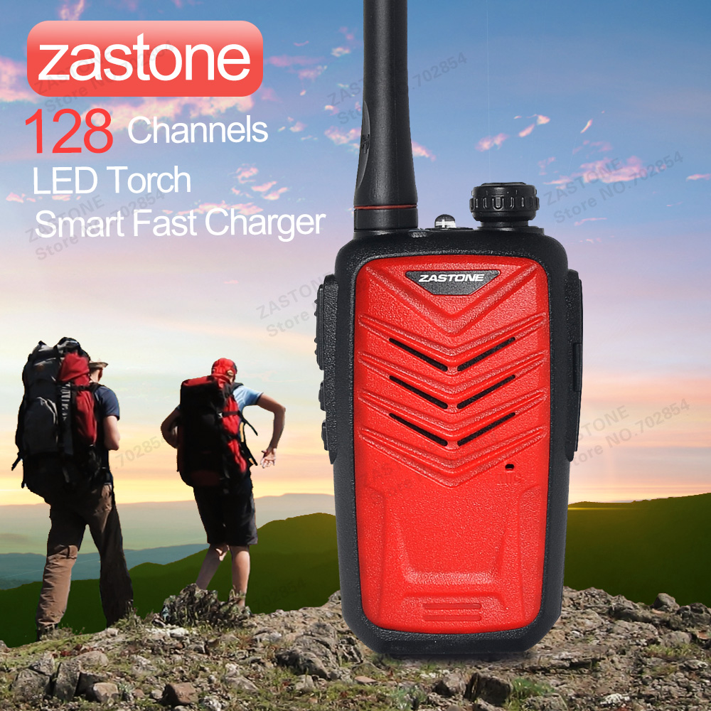 zastone mini8 red two way radio Mini Portable Multi can add 128 Channels UHF band 5 colors walkie talkie(China (Mainland))