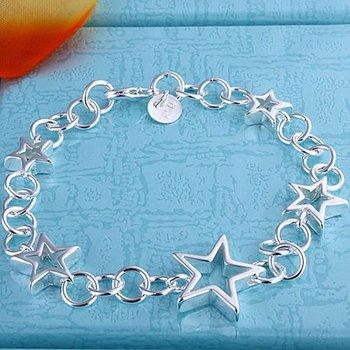 Браслет 925 серебро браслет 925 серебро ювелирные изделия звезды ювелирные изделия ...