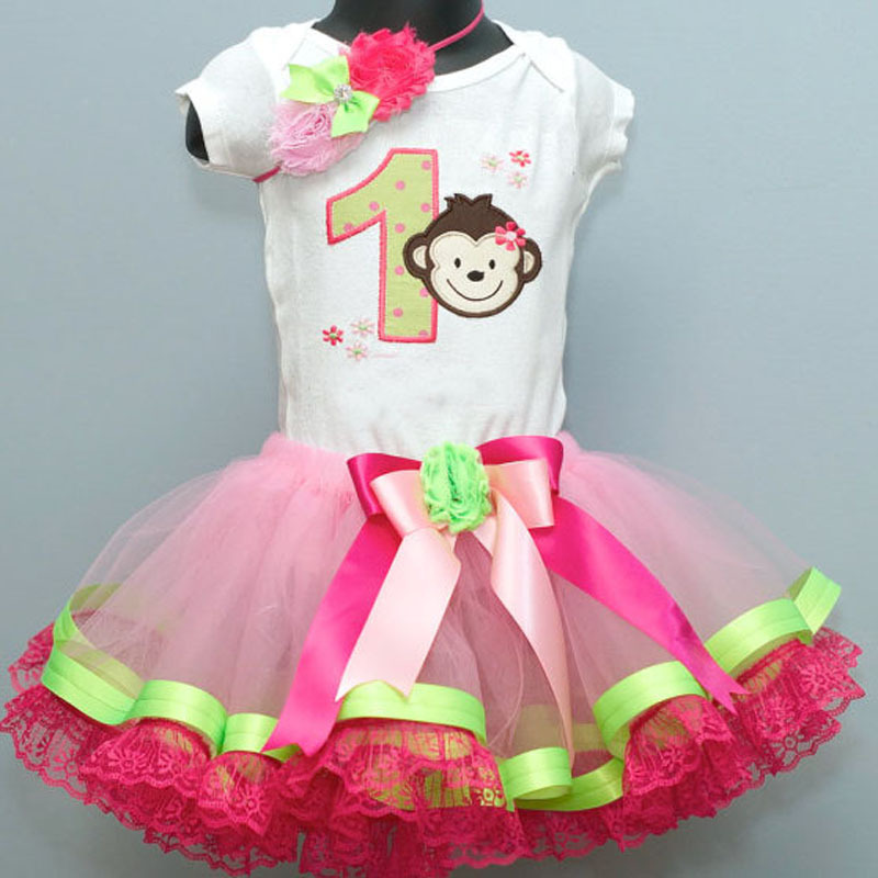 Retail Baby Girls Pink Tulle Fluffy Tutu Skirts Ballet Girl Dance Lace Ribbon Edged 2T 3T 4T - Royal Sonny Online & Shop store