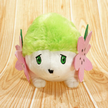 Pokemon Pocket Monster Shaymin 15CM Plush Toys Cartoon Anime Soft Stuffed Dolls Children Birthday Gift