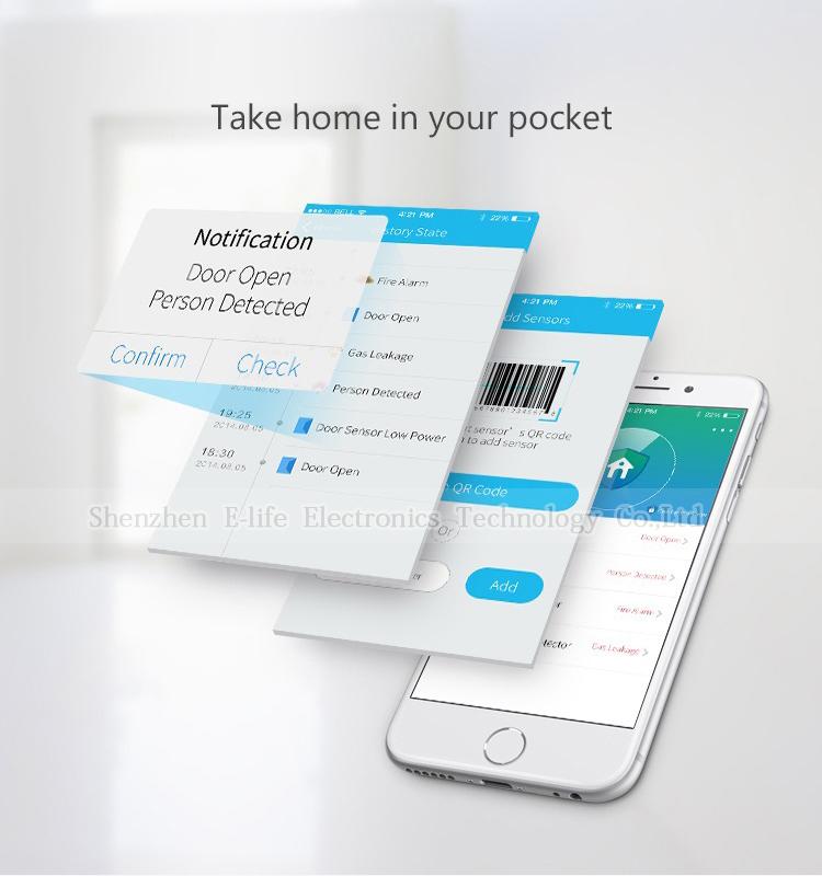 Купить Горячая Продажа Broadlink S1C SmartOne Комплект, сигнализации и Безопасности Комплект Для Умный Дом Сигнализация IOS Android Phone Remote Control