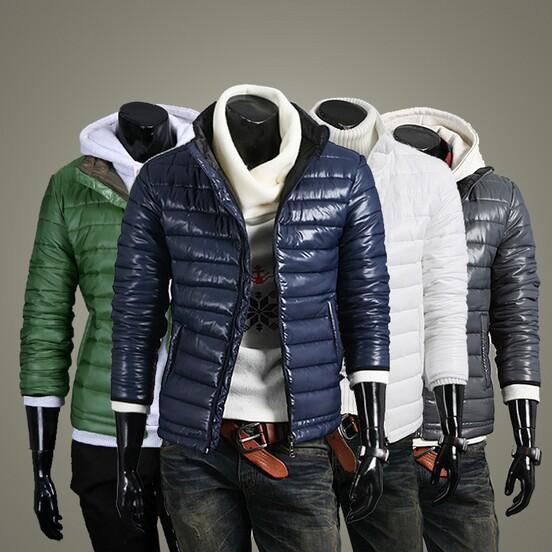 Бесплатная доставка нового 2015 мужские одежды бренд мужской куртки хлопок мужские ватные человек зимой куртки человек теплое пальто