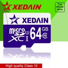 XEDAIN CLASS10 8GB 16GB 32GB 64GB 100% real capacity speed Memory Cards Micro SD microSD card TF Mini SD Card Gift card reader(China (Mainland))