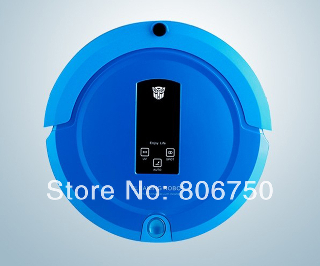 (Free Shipping For All Countries) 2013 Newest Technology OEM Shining Logo Robot Vacuum Cleaner and Lowest Noise Good For Babies