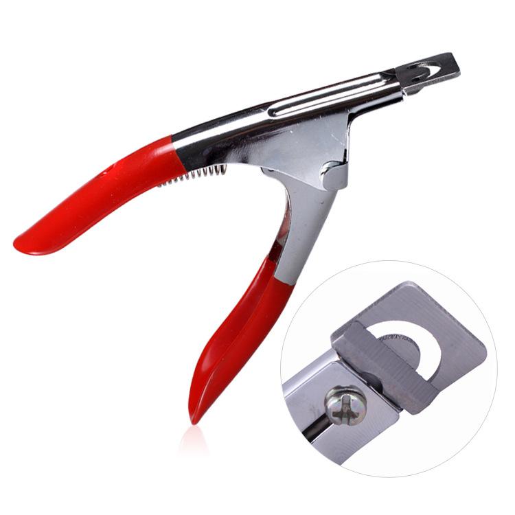 New U - finger nail clipper beauty make up nail cutter edge trimmer makeup maquiagem nail art scissors clippers art tools(China (Mainland))