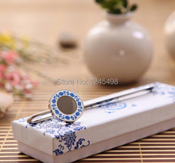5pcs/lot pouplar mixed style metal silver bookmark Retro alloy bookmark l blue and white porcelain bookmark(China (Mainland))