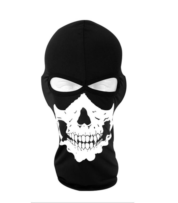 Outdoor Cap Skull Full Face Mask Balaclava Bike Motorcycle Cycling Sports Protect HeadgearYU56