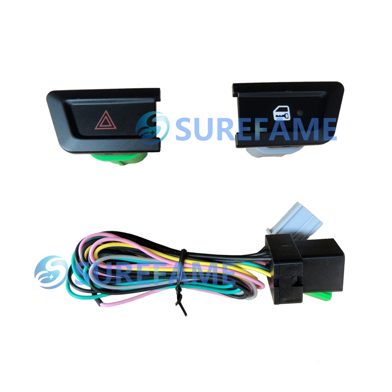 Special Button and Wire for Ford 2012-2015 Ranger of Car Reffiting Audio Frame Fascia Panel Dash Kit Face Plate Facia Adapter(China (Mainland))