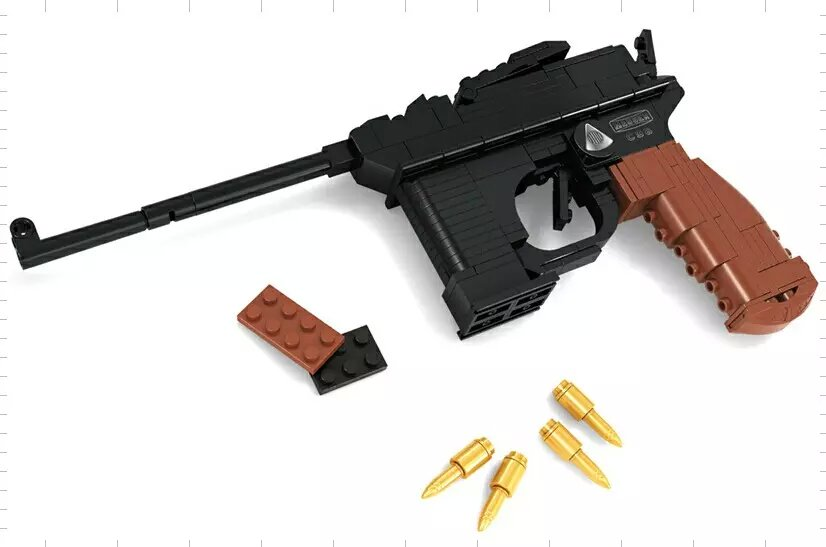 Boy Building Block Toy Gun Models Super Arms Rifle(China (Mainland))
