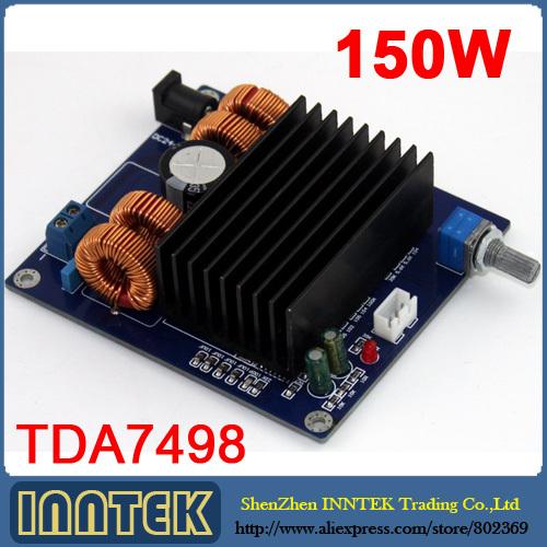 собранном виде tda7498 класса d 150w сабвуфера усилитель платы