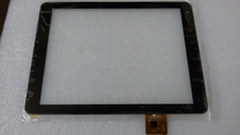 """white 9.7"""" Tablet Touch Screen Digiziter  PB97A8592-R2 For Texet 9757 3G / Texet 9767 3G Replacement repair Part Assembly(China (Mainland))"""