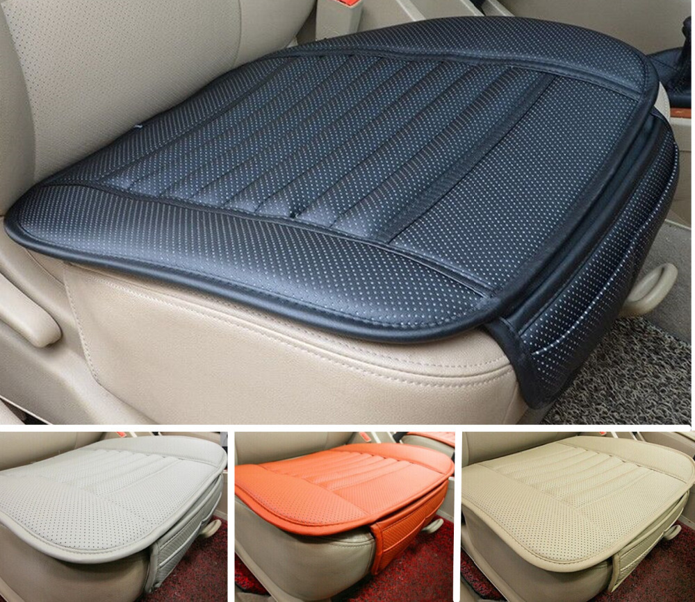 high quality leather car seat cushion four season use car seat pad leather car seat cover single. Black Bedroom Furniture Sets. Home Design Ideas