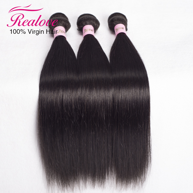 brazilian virgin hair straight 3pc 8