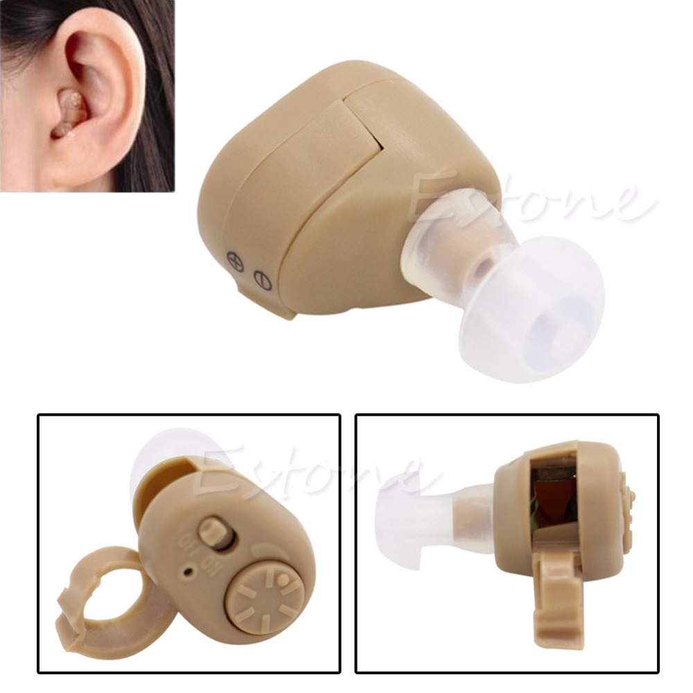 AXON K-86 Listening Mini Hearing Aid/Aids Ear Sound Amplifier Volume Adjustable(China (Mainland))