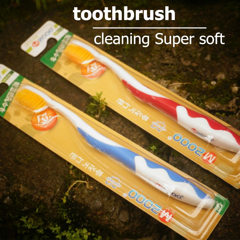 imported ultra-fine nano gold and silver fish fur toothbrush 4 PCS Oral cleaning Super soft(China (Mainland))