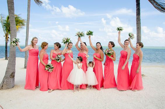 Popular long coral bridesmaid dresses under 100 buy cheap for Coral bridesmaid dresses for beach wedding