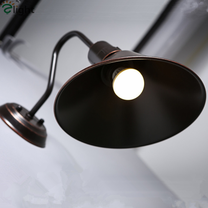 2016 New W22cm Loft Industrial Painted Iron font b Speaker b font Style Led Wall Lamp