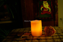 "Candle Choice 3*4"" Plastic Flameless Candles/LED Candles with Dual-Timer(China (Mainland))"