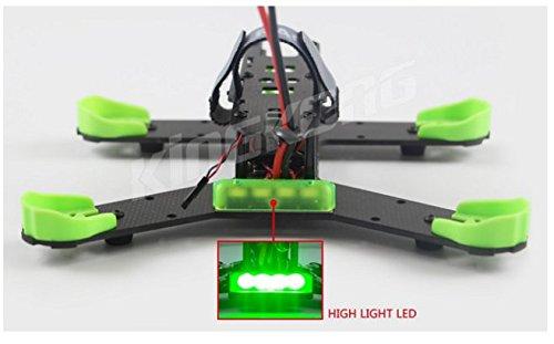 210GT 210MM KIT Carbon Fiber Frame Kit for High Strength KINGKONG RC Racing Drone Quadcopter Aircraft F19955/6