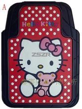 Hello Kitty Universal Floor Mat General Use Car Floor Mat 5pcs/Set Z2EC041(China (Mainland))