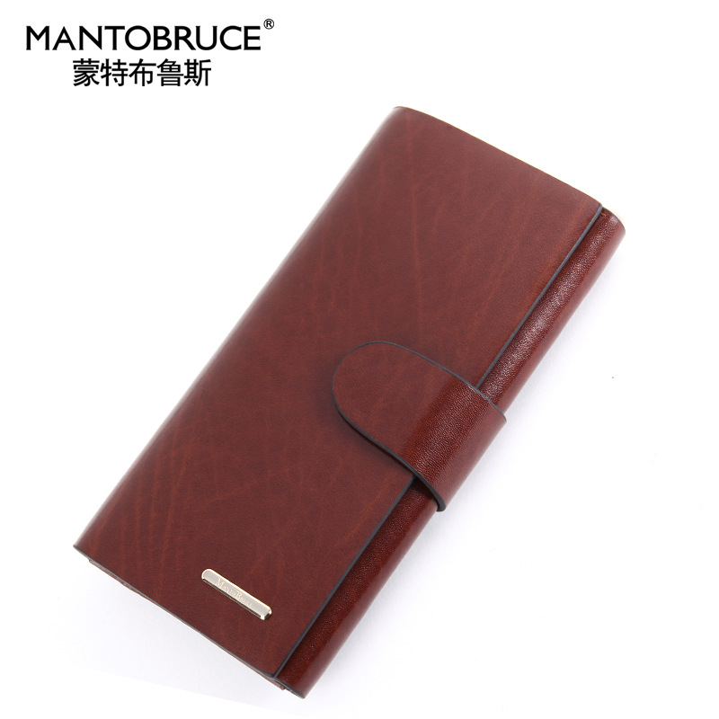 2015 business zipper rushed mini wallets unisex carteira price new leather wallet men's handbags long high hand bag(China (Mainland))