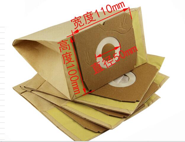10 pieces/lot Electrolux Vacuum Cleaner Bags Dust Bag For Z1550 Z1560 Z1570 Vacuum Cleaner Bag(China (Mainland))