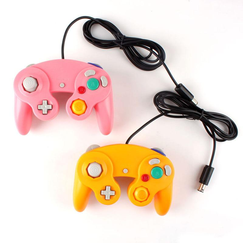 Wired Shock Game Stick Pad Joypad Controller for Nintendo Wii GameCube GC #50442(China (Mainland))