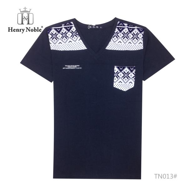 Hot sale front pocket design v neck mens blank t shirt for Men s v neck pocket tee shirts