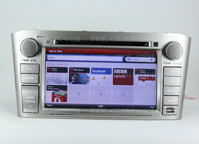 Avensis DVD With GPS For Toyota Avensis 2003-2007 With 3G USB Host (Silvery model)(China (Mainland))