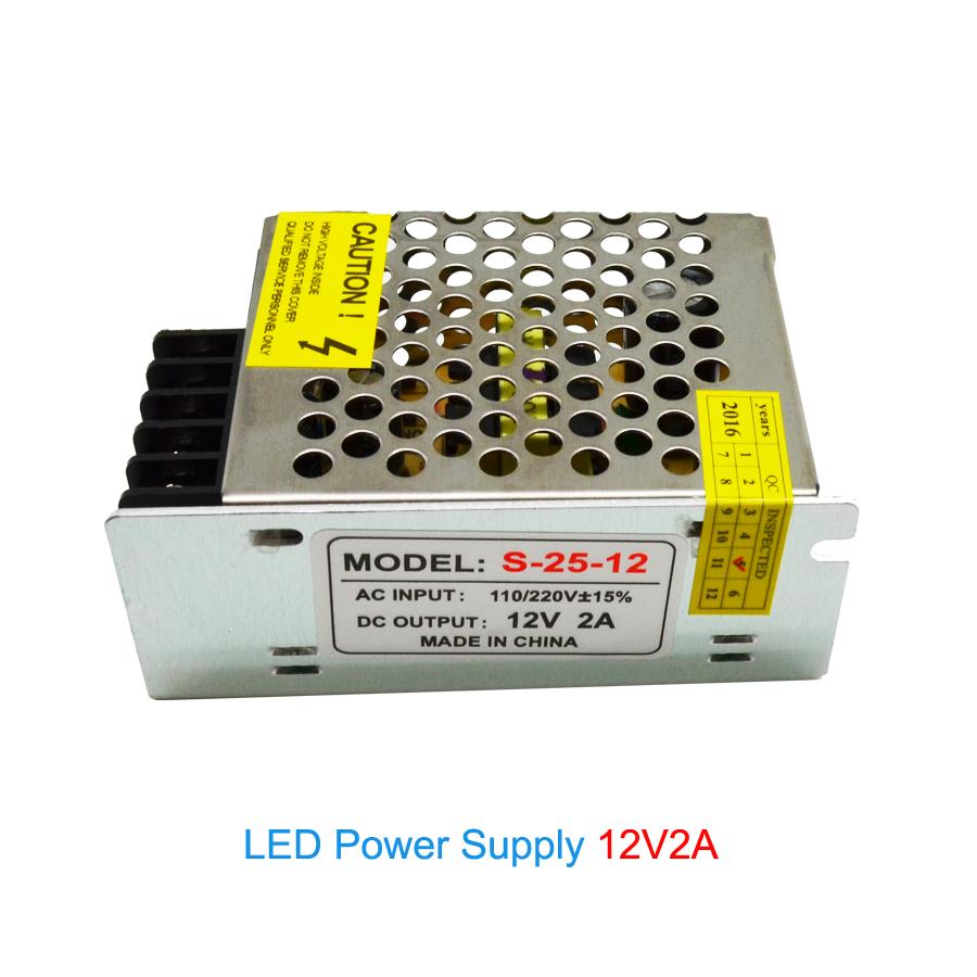 Led Power Supply 12V 2A 24W,Led Transformer Adaptor From AC220V To DC12V,Non Waterproof Led Power Driver DC12V,Led Strip Driver(China (Mainland))