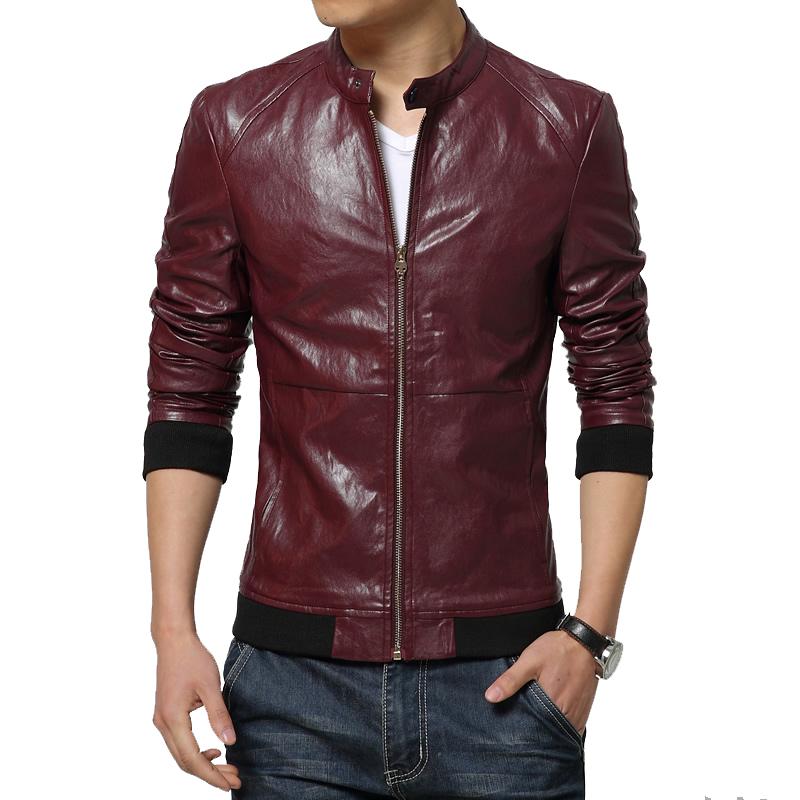 achetez en gros rouge veste en cuir pour hommes en ligne des grossistes rouge veste en cuir. Black Bedroom Furniture Sets. Home Design Ideas
