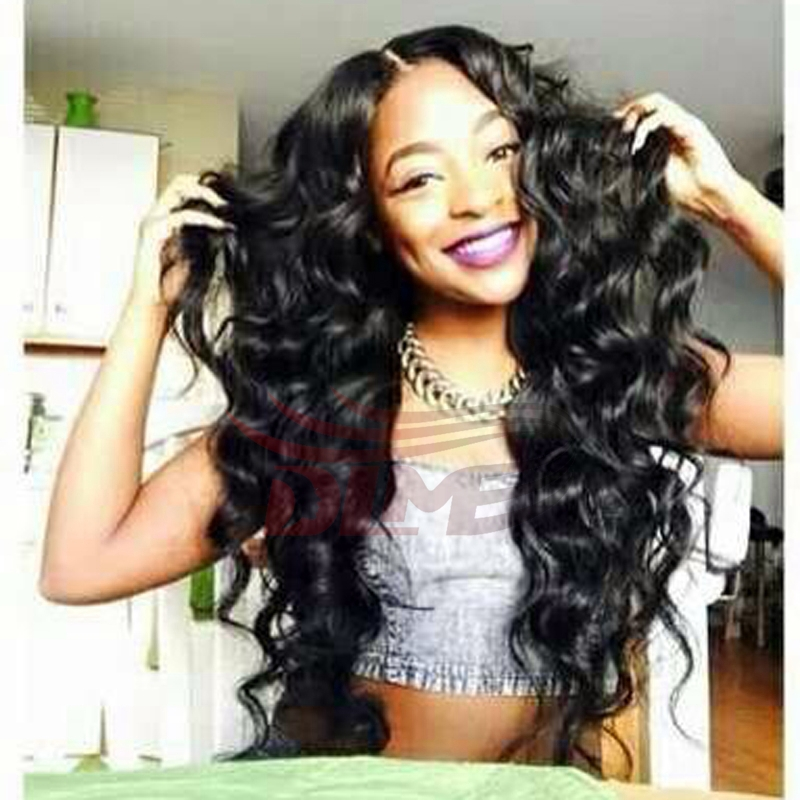 7A cheap virgin peruvian remy human hair wavy full lace wigs bleached knots front lace wigs with baby hair 1#color free shipping<br><br>Aliexpress